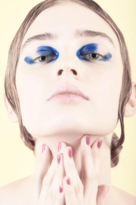 maquillage femme coiffure visage